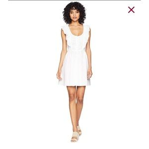 NWT Free People Half Moon Eyelet Dress Size M